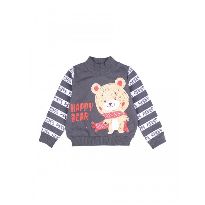Фото - Толстовки и свитшоты Bonito kids Джемпер для мальчика Happy Bear BK1367V распашонки и ползунки bonito kids ползунки для мальчика коала
