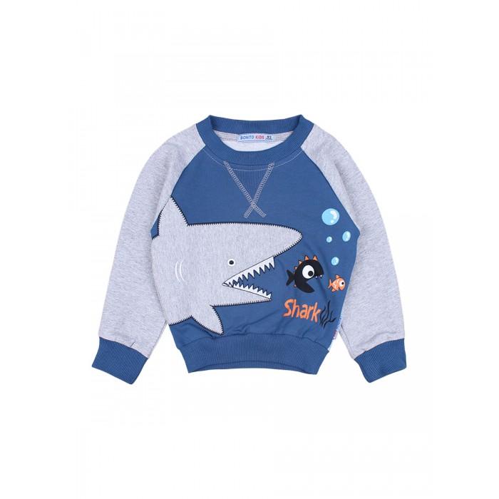 Фото - Толстовки и свитшоты Bonito kids Джемпер для мальчика Shark BK1264DJ джемпер sago kids k6221 зеленый