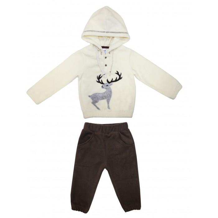 Bonito kids Комплект для девочек (толстовка и брюки) OP436
