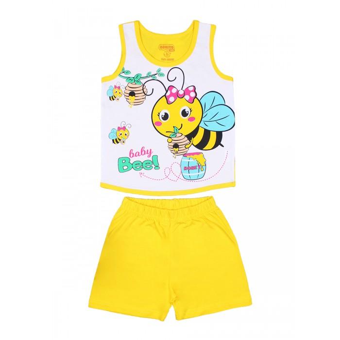 Комплекты детской одежды Bonito kids Комплект для девочки (шорты и майка)