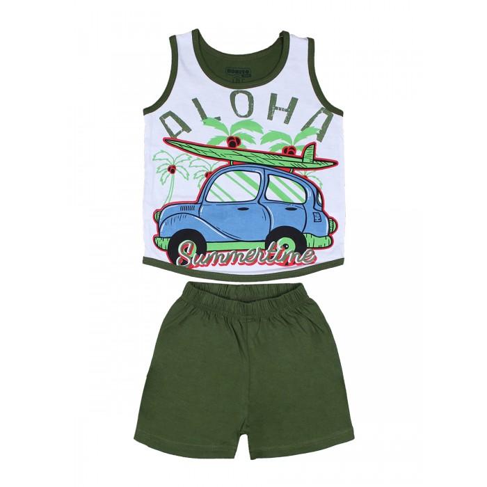 Комплекты детской одежды Bonito kids Комплект для мальчика (шорты и майка) Алоха