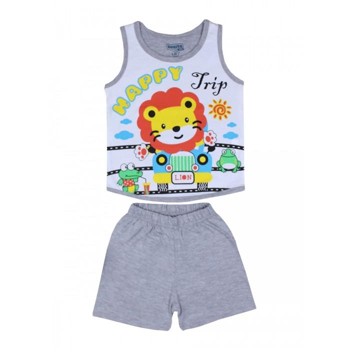 Комплекты детской одежды Bonito kids Комплект для мальчика (шорты и майка) Львенок
