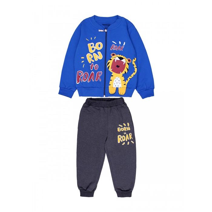 Картинка для Комплекты детской одежды Bonito kids Комплект для мальчика (толстовка и брюки) Born to roar BK1384KP
