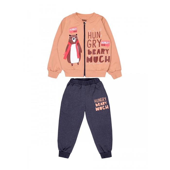 Картинка для Комплекты детской одежды Bonito kids Комплект для мальчика (толстовка и брюки) Hungry Bear BK1384KP