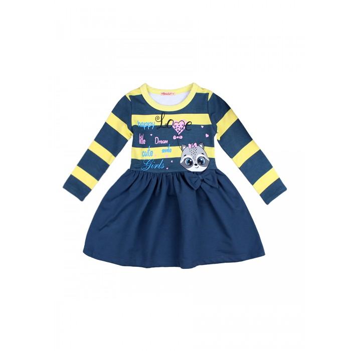 Платья и сарафаны Bonito kids Платье для девочки Енот BK1389P