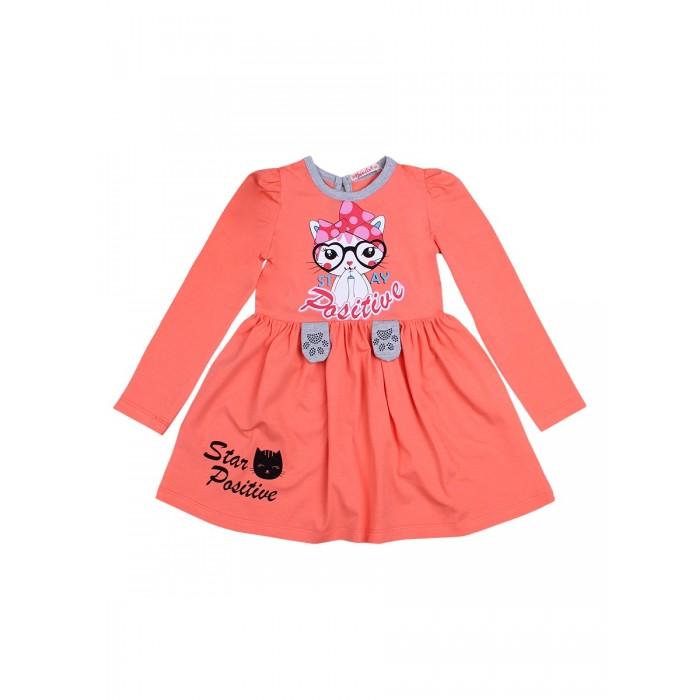 Bonito kids Платье для девочки Star Positive BK1378P