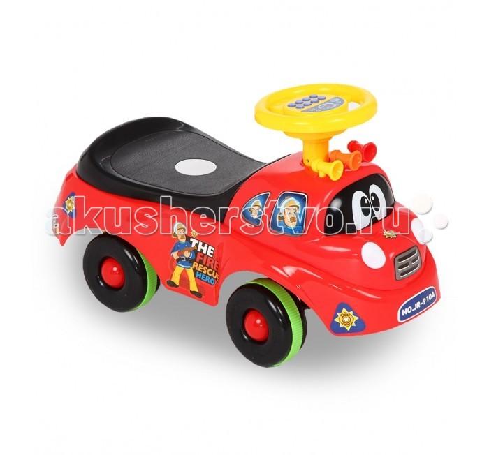 Каталка Bony детская JR-910детская JR-910Bony Каталка детская JR-910 – это средство передвижения для малышей от года. Она непременно привлечет внимание ребенка и станет любимой игрушкой на несколько лет.   Машинка выполнена из качественного, нетоксичного пластика, имеет привлекательный дизайн и красочную рулевую панель. Каталку можно взять с собой на улицу, в поездку или устроить веселые игры дома.<br>