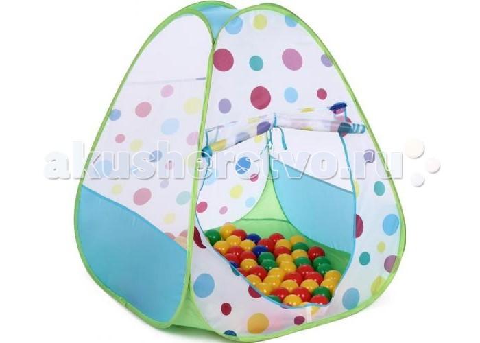 Палатки-домики Bony Игровой домик с шариками Треугольник большой