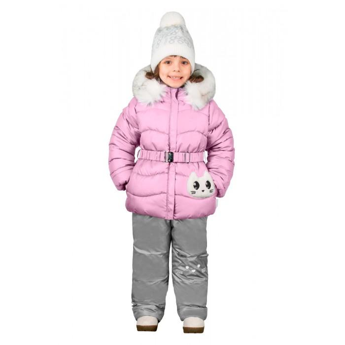 Boom by Orby Комплект для девочки зимний 70464Комплект для девочки зимний 70464Boom by Orby Комплект для девочки зимний 70464_bog  Игровой комплект с милым котёнком для маленьких модниц. Оригинальная аппликация, вышивка на брюках и забавные ушки на капюшоне делают его не просто одеждой, а настоящей игрой для малышек.  Состав: Ткань верха: Болонь pu milky; Болонь pu milky Отделка: Иск.мех Подкладка: Хлопок; Флис; ПЭ пуходержащий; ПЭ пуходержащий Утеплитель: Эко синтепон 400 г/м2; Эко синтепон 200 г/м2  Уход: Автоматическая стирка в бережном режиме до 30 градусов.  Boom by Orby – это российский бренд детской одежды с европейским дизайном. Производитель гордится собственным производством в России! Это гарантия высокого качества и низких цен. Orby доверяют десятки тысяч мам и пап в России и странах ближнего зарубежья! Они ценят верхнюю одежду Boom! за динамичный характер и отличное качество! Каждая коллекция - это яркая история, выполненная в сочных цветах с эксклюзивными принтами. Используется высокотехнологичные утеплители и ткани с защитными пропитками. Это гарантия лёгкого ухода и долгой носки одежды Boom!<br>
