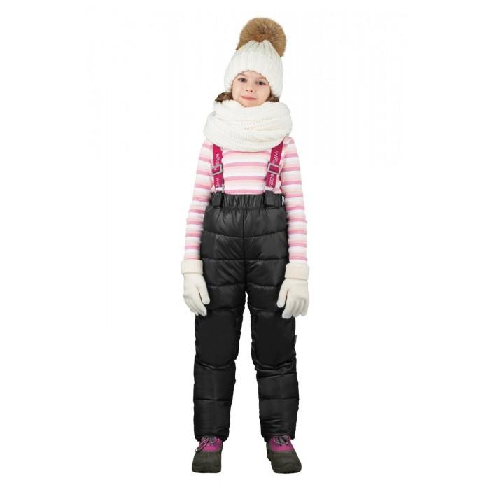 Зимние комбинезоны и комплекты Boom by Orby Полукомбинезон для девочки зимний 70480 полукомбинезон orby для девочки цвет синий