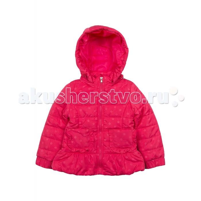 Куртки, пальто, пуховики Born Куртка демисезонная для девочки 16-4006 color kids демисезонная для девочки flandern розовая
