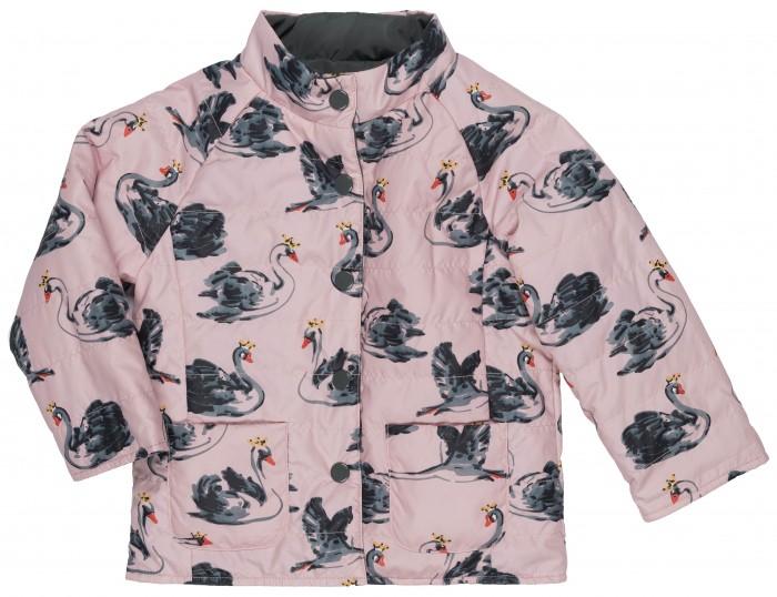 Born Куртка демисезонная для девочки 17-1008-IKКуртка демисезонная для девочки 17-1008-IKBorn Куртка демисезонная для девочки 17-1008-IK  Двусторонняя куртка из плащевой ткани розового и серого цвета на синтепоне.   Застежка-кнопки, на полочке накладные карманы.  Состав: верх - полиэстер 100%, подкладка - полиэстер 100%, утеплитель - синтепон 200 г.  Рекомендации по уходу: гладить при t не более 110С; отбеливание запрещено; барабанная сушка запрещена; стирка при t не более 30С; деликатная химическая чистка.<br>