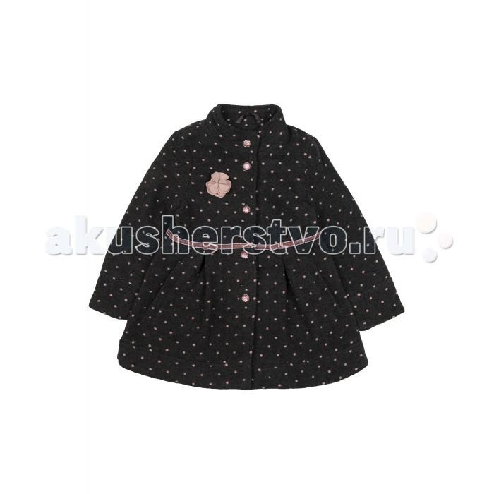 Куртки, пальто, пуховики Born Пальто демисезонное для девочки 16-4007-K xp group женское демисезонное пальто ирма молочный
