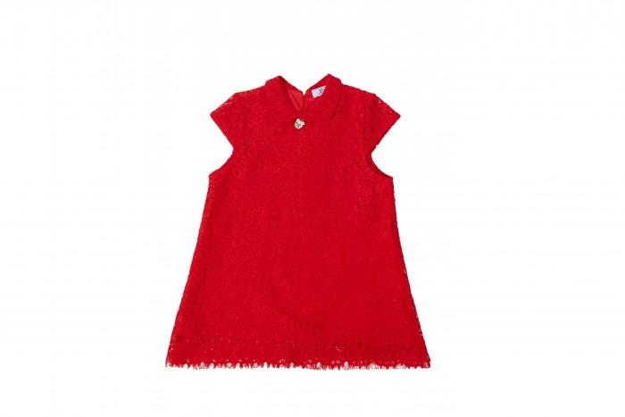 Born ПлатьеДетские платья и сарафаны<br>Born Платье - необыкновенно яркое кружевное платье девочки. Изготовленное из 100% хлопка кружевное полотно на трикотажной подкладке мягкое и приятное на ощупь, не сковывает движения и позволяет коже дышать, не раздражает даже самую нежную и чувствительную кожу ребенка, обеспечивая ему наибольший комфорт. Современный дизайн, яркая расцветка и оригинальные аксессуары делают это платье модным и стильным предметом детского гардероба.   В таком платье девочка будет выглядеть нарядно, стильно и привлекательно в любом месте. Дополнив образ аксессуарами, в этом платье можно смело ходить в гости, в театр, создавая праздничное настроение. Для прохладных вечеров платье можно дополнить классическим жакетом, выполненном в том же стиле.