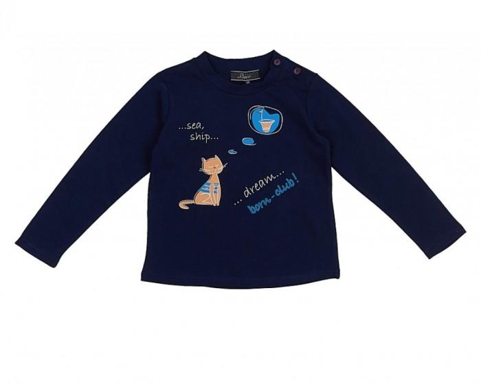 Детская одежда , Водолазки и лонгсливы Born Футболка 16-1031-TG арт: 279361 -  Водолазки и лонгсливы