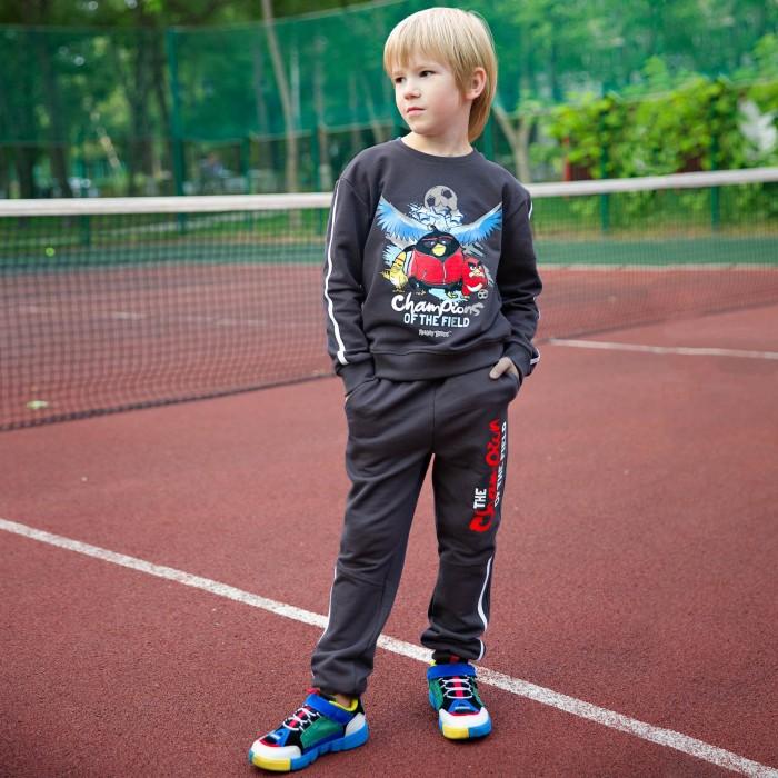 Купить Брюки и джинсы, Bossa Nova Брюки для мальчика Angry Birds 496АБ-461с