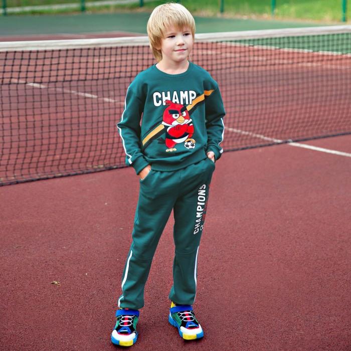 Купить Брюки и джинсы, Bossa Nova Брюки для мальчика Angry Birds 496АБ-461з