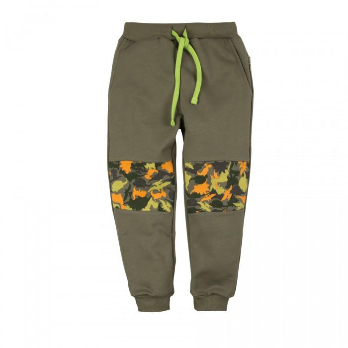 Брюки, джинсы и штанишки Bossa Nova Брюки для мальчика Принт Крутозавр