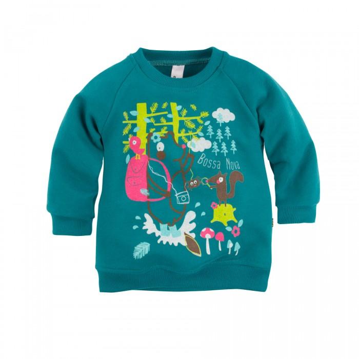 Джемперы, свитера, пуловеры Bossa Nova Джемпер для девочки с принтом Совушка 550Б-464 джемперы свитера пуловеры bossa nova джемпер для девочки с принтом совушка 207б 162