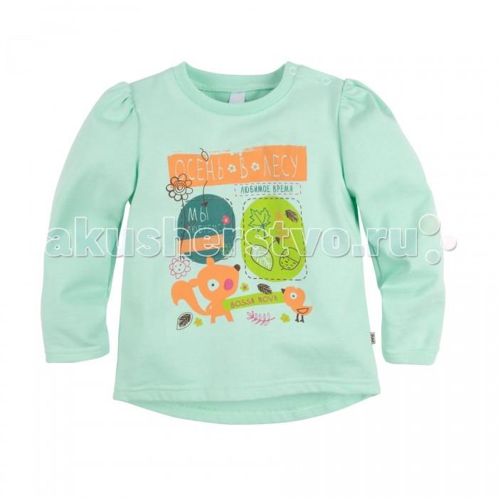 Джемперы, свитера, пуловеры Bossa Nova Джемпер для девочки с принтом Совушка джемперы cudgi джемпер