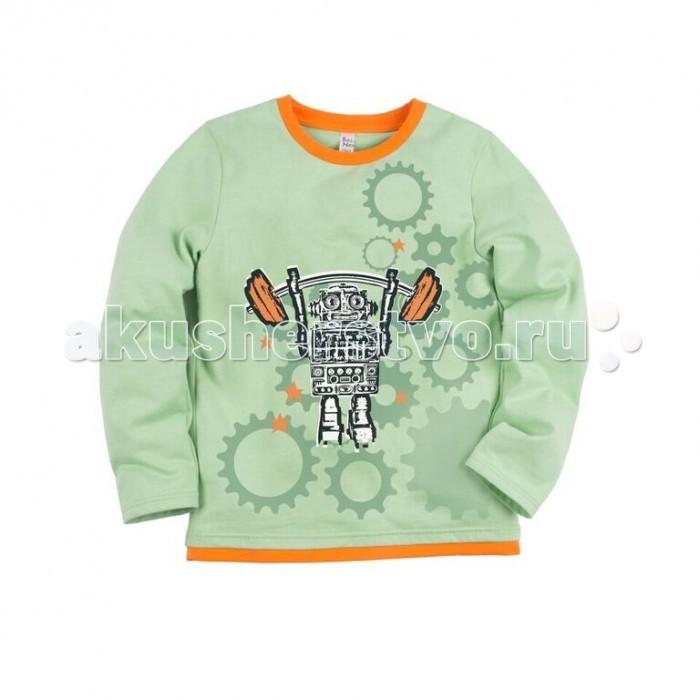 Джемперы, свитера, пуловеры Bossa Nova Джемпер с принтом для мальчика Роботы 218Б-162