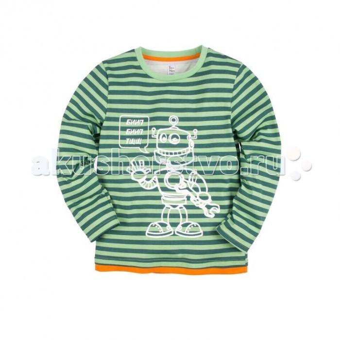 Джемперы, свитера, пуловеры Bossa Nova Джемпер с принтом для мальчика Роботы 218Б-181