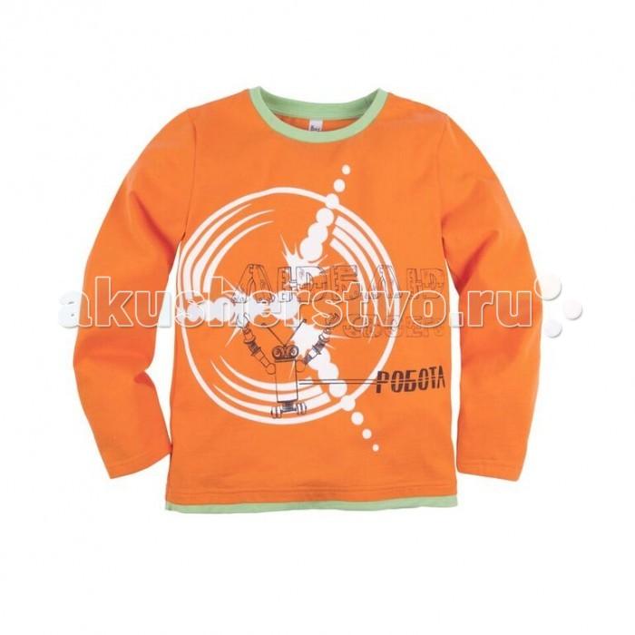 Джемперы, свитера, пуловеры Bossa Nova Джемпер с принтом для мальчика Роботы 218Б-161 юбка medicine medicine me024ewuaa79