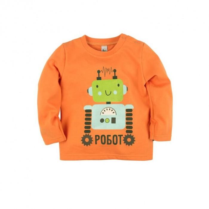 Джемперы, свитера, пуловеры Bossa Nova Джемпер с принтом для мальчика Роботы 557Б-161о джемперы свитера пуловеры bossa nova джемпер для девочки с принтом совушка 223б 162