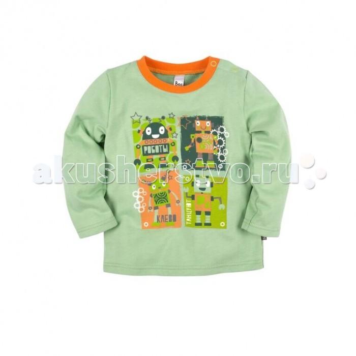 Джемперы, свитера, пуловеры Bossa Nova Джемпер с принтом для мальчика Роботы 557Б-162 джемперы cudgi джемпер