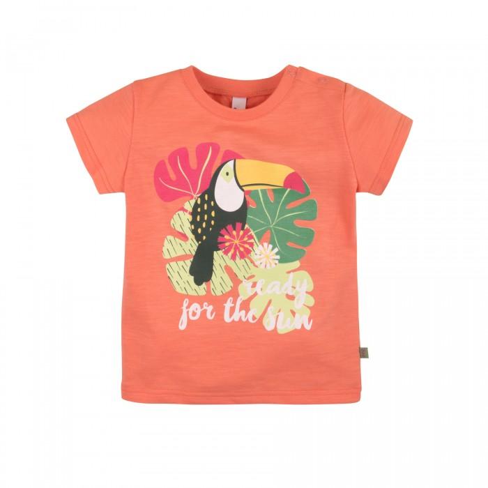 Футболки и топы Bossa Nova Футболка для девочки Фламинго 259Б-161д кофты и кардиганы bossa nova кофта на кнопках для девочки фламинго