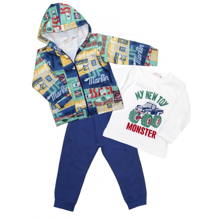 Bossa Nova Комплект для мальчика жакет, лонгслив, брюки 6406