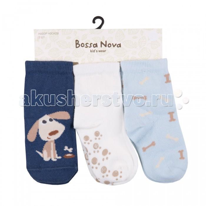Колготки, носки, гетры Bossa Nova Носки для мальчика 3 пары [супермаркет] jingdong nba профессионального баскетбол носки для мужчин полотенца дна движения причесано хлопком махровых носков дна 23 джеймс