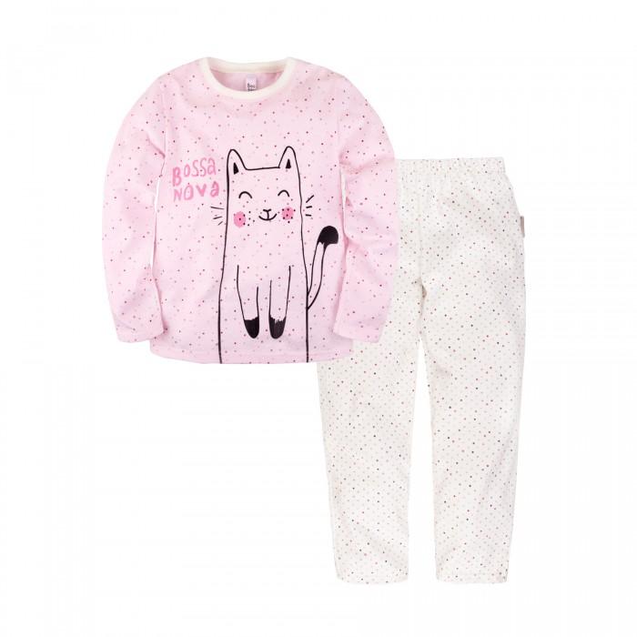 Купить Домашняя одежда, Bossa Nova Пижама для девочки (джемпер, брюки) Basic 362К-171р