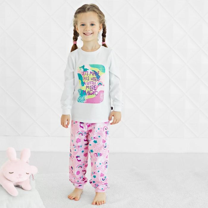 Bossa Nova Пижама для девочки (джемпер, брюки) Морфей 356К-151
