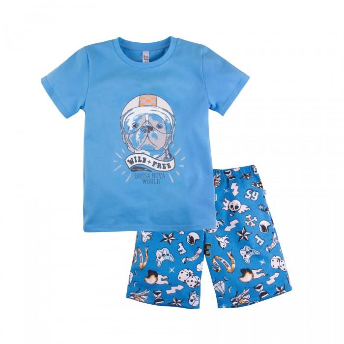 Домашняя одежда, Bossa Nova Пижама для мальчика (футболка, шорты) Тату  - купить со скидкой