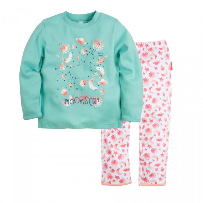 Пижамы и ночные сорочки Bossa Nova Пижама (Джемпер и брюки) для девочки Принт Гравитация 356С-361