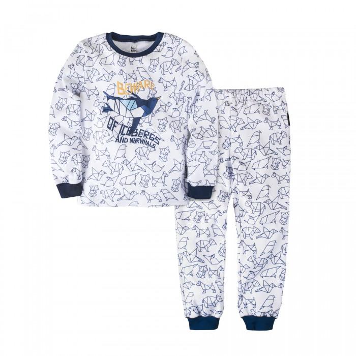 Купить Домашняя одежда, Bossa Nova Пижама (джемпер и брюки) для мальчика Оригами 356О-371