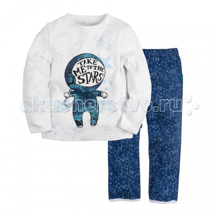 Пижамы и ночные сорочки Bossa Nova Пижама (Джемпер и брюки) для мальчика Принт Гравитация 362С-361