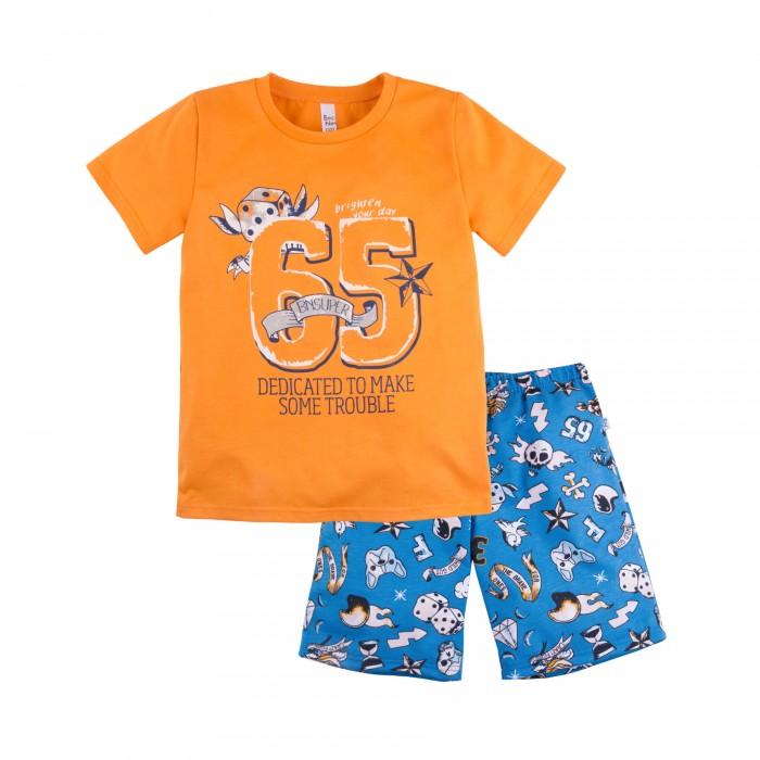 Купить Домашняя одежда, Bossa Nova Пижама футболка и шорты Тату 384Б-161