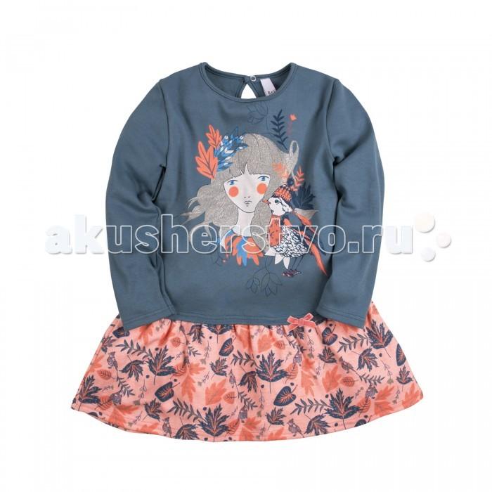 Детские платья и сарафаны Bossa Nova Платье Принт Чудолес 128Б-361 bossa nova платье