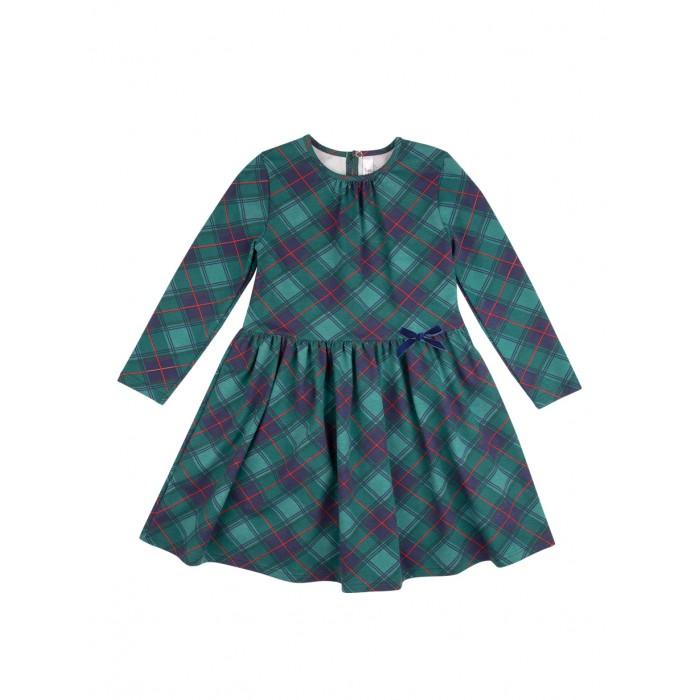 Bossa Nova Платье с отрезной юбкой по талии Серенада Шотландка