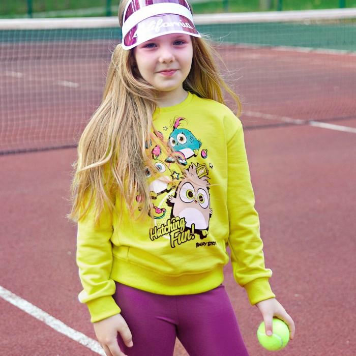 Купить Толстовки и свитшоты, Bossa Nova Свитшот для девочки Angry Birds 199АБ-461
