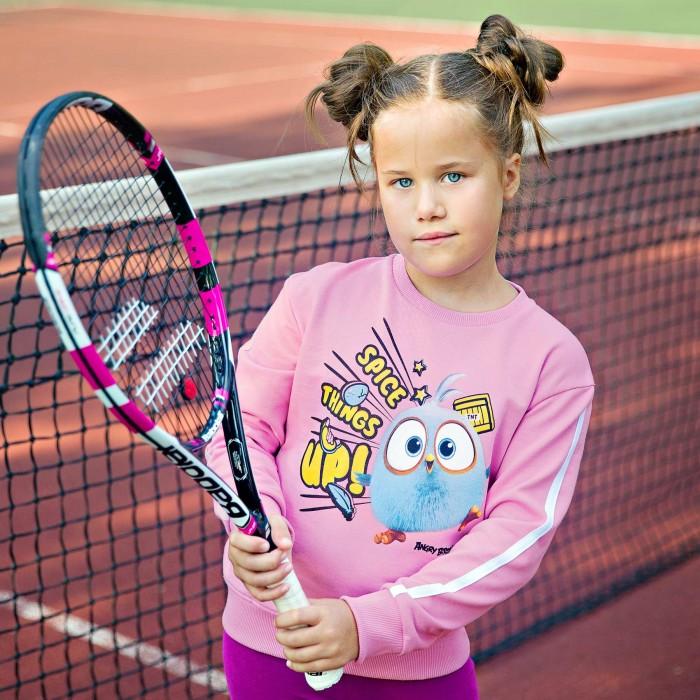 Купить Толстовки и свитшоты, Bossa Nova Свитшот для девочки Angry Birds 199АБ-461р