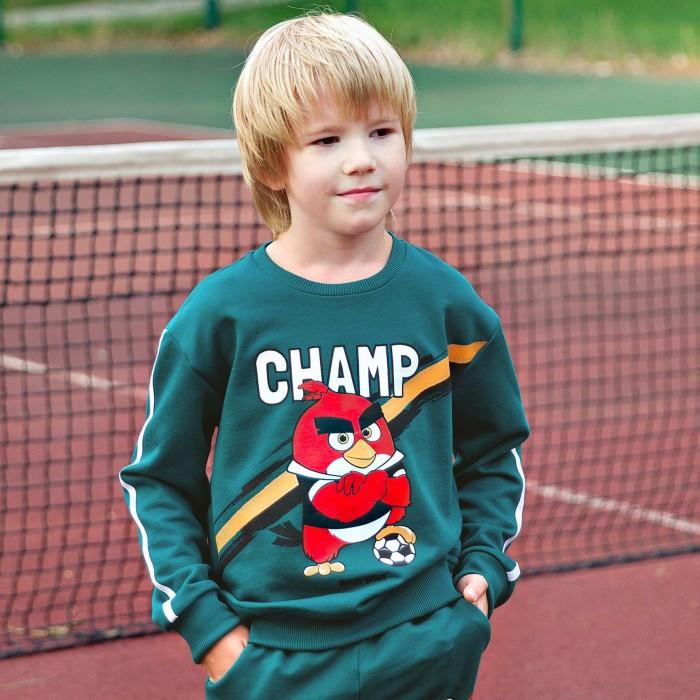 Купить Толстовки и свитшоты, Bossa Nova Свитшот для мальчика Angry Birds 203АБ-461з