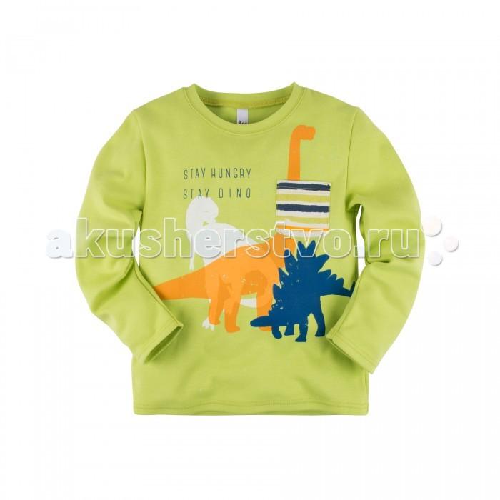 Толстовки, свитшоты, худи Bossa Nova Свитшот для мальчика Принт Крутозавр 177Б-361 свитшоты incity свитшот