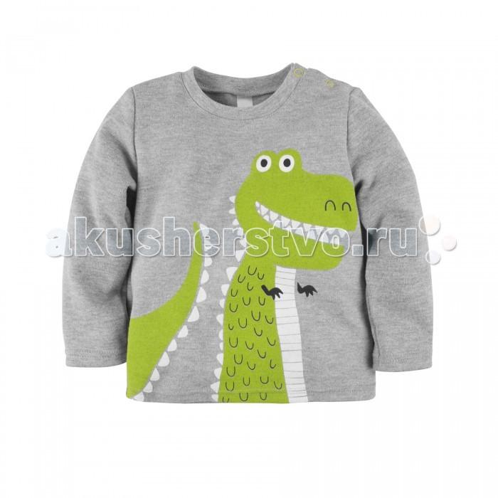 Толстовки, свитшоты, худи Bossa Nova Свитшот для мальчика Принт Крутозавр
