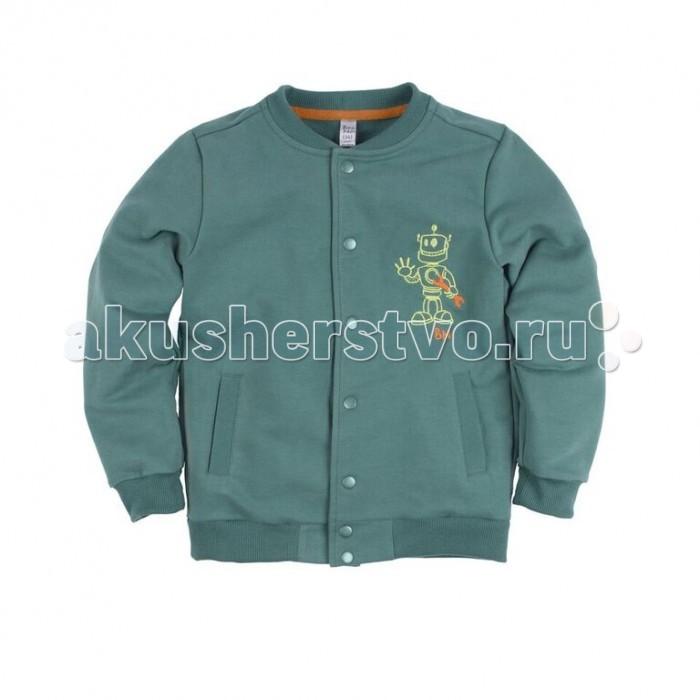 Детская одежда , Толстовки, свитшоты, худи Bossa Nova Толстовка с вышивкой для мальчика Роботы арт: 352390 -  Толстовки, свитшоты, худи