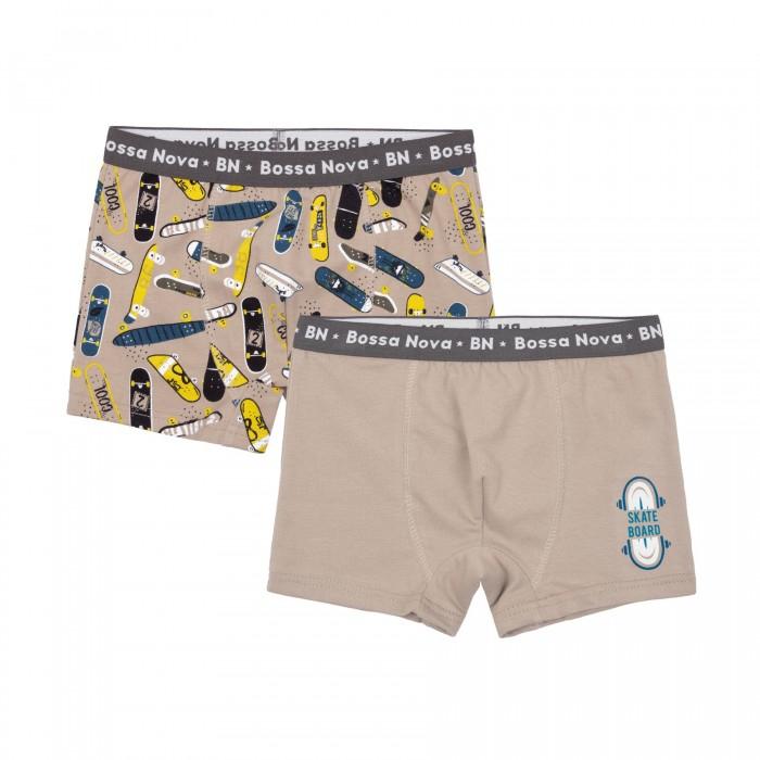 Белье и колготки Bossa Nova Трусы-боксеры для мальчика Toys 2 шт. 462ТН-167