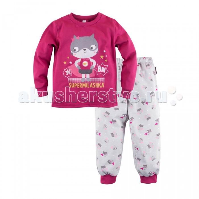 Пижамы и ночные сорочки Bossa Nova Пижама (джемпер и брюки) для девочки Супергерои 356Б-161