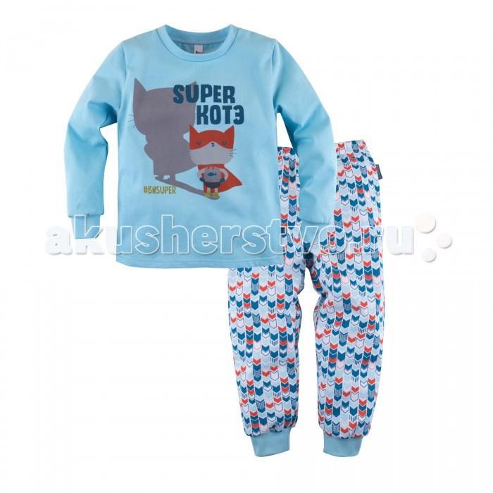Пижамы и ночные сорочки Bossa Nova Пижама (джемпер и брюки) для мальчика Супергерои 353Б-161